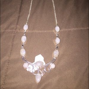 925 sterling silver and moonstone hand crafted